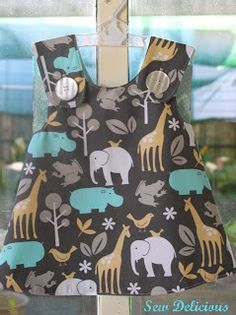 Sew Delicious: Free Patterns Round Up  Make this with fabric from: http://laughinghousefabric.etsy.com