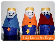 Cute craft for 3 Kings Day! (Dia de los Reyes Magos!)