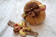 Set of 2 Newborn Handspun Headbands by KristinsKreations11 on Etsy, $20.00