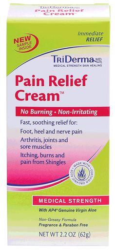 EA/1 - Pain Relief Cream 2.2 oz.