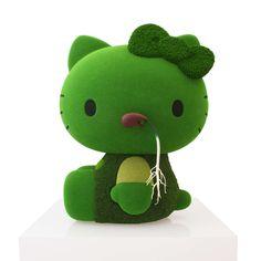 Hello Moss Kitty by Makoto Azuma, Japan