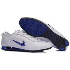 on sale 75a35 6961a Shox Nike Shox White Metallic Royal  Nike Shox - Nike Shox White Metallic  Royal shoes features durable white lather upper which presents a high-level  ...