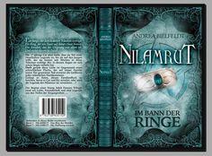 Und auch das #Taschenbuch erstrahlt in neuem Glanz! Cover ©Traumstoff #Nilamrut - Im Bann der Ringe #AndreaBielfeldt #Trilogie #Fantasy #Buchhandel #Print