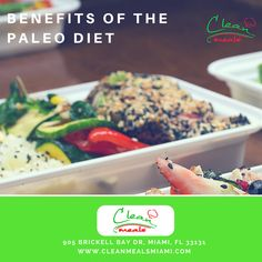 BENEFITS OF THE PALEO DIET: 1- Healthy Cells 2- Healthy Brain 3- More Muscle, Less Fat 4- Better Gut Health and more  Start today at www.cleanmealsmiami.com  🏡 www.cleanmealsmiami.com 🏡 🚗🚕 Free Delivery 🚗🚕 ▬▬▬▬▬▬▬▬▬▬▬▬▬▬▬▬▬▬▬▬▬▬▬▬▬▬ Tags: - #CleanMealsMiami #CleanMealsChalenge #Nutrition #EatHealthy #LiveLean #Fitness #Miami #StayFit #Food #HealthyFood #HealthyLife #FoodCatering #Nutritional #EatClean #LiveFit  #CMM. #healthylifestyle #healthysnacks #healthybody