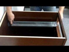 Soft close Drawer Glide Installation