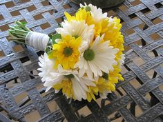 Viewing Gallery For - Sunflower And Daisy Bouquets