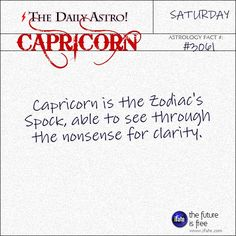 Daily Capricorn Astrology Fact: Your sun sign (horoscope) only tells part of the story.  For a complete reading, you need a birth chart reading.   Visit iFate.com today! And for more astrology factoids, check out thedailyastro.com !