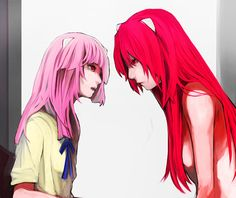 lucy and mariko face to face