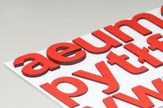 Magnetyczne Literki dla Dzieci - ALFABET 8 cm w MagWords® - More than Words na DaWanda.com