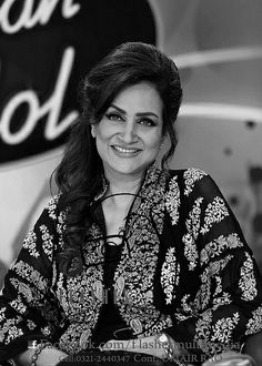 Bushra Ansari (Urdu: بشریٰ انصاری; PP), is a Pakistani television presenter, singer, actress, comedian, playwright, and author who started as a child performer in the 1960s and has remained a major TV personality for over four decades.