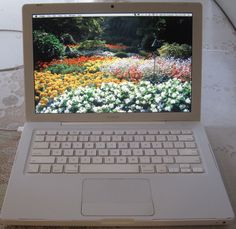 That one white MacBook. | 35 Things That Were Cool 8 Years Ago But Aren't At All Today