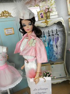 Lady of the Manor Barbie Shops La Boutique Angelique | Flickr - Photo Sharing!