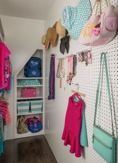 Pegboard Organization and Display