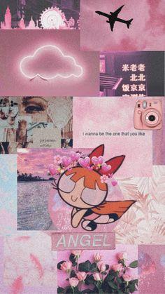 Cartoon Wallpaper Iphone, Cute Disney Wallpaper, Iphone Background Wallpaper, Cute Cartoon Wallpapers, Pink Wallpaper, Powerpuff Girls Wallpaper, Aesthetic Pastel Wallpaper, Aesthetic Wallpapers, Aesthetic Collage