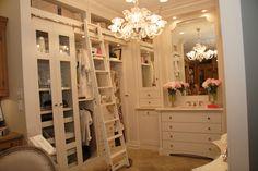 Girls Closet and Vanity - Interior Design - Kitchens By Design Showroom