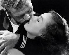 "Bill Williams and Susan Hayward publicity still for ""Deadline at Dawn"""
