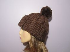 Custom Order Knit Hat  Pick Your Color Hand Knit by UpNorthKnits, $38.00