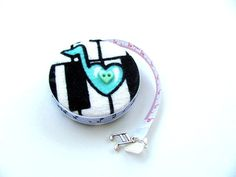 Tape Measure Piano Music Retractable by AllAboutTheButtons on Etsy