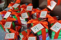 Thank you note with each Girl Scout Cookie order. Small effort, HUGE impact.