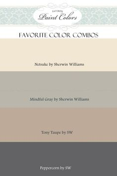 Home Color Combinations on Pinterest