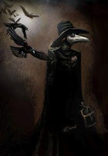 Plague doctor mask.