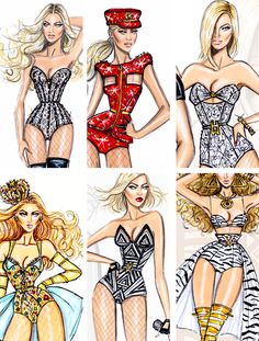 getmebodieds:  beyonce + hayden williams illustrations