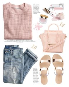 """love xo xo pink"" by licethfashion ❤ liked on Polyvore featuring Charlotte Russe, DailyLook, H&M, J.Crew, Ciaté, Isaac Mizrahi and Kate Spade"