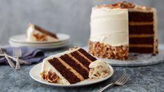 Sky-High Salted Caramel Chocolate Layer Cake