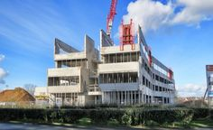 Ecole Nationale Supérieure ENSICAEN   Caen (14) Caen, Construction, Burj Khalifa, Architecture, Building, Travel, Conference Room, Arquitetura, Viajes