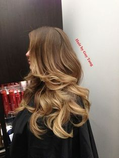 This is the ONLY way an ombré should look! Graduated balayage ombre by Guy Tang