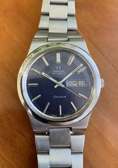 OMEGA GENEVE Cal. 1022 automatic vintage watch. 166.0174. GOOD WORKING CONDITION Omega Geneve, Omega Automatic, Watch Deals, Quality Watches, Vintage Watches, Cool Watches, Omega Watch, Conditioner, Ebay