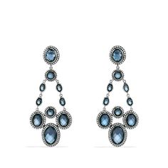 Renaissance Chandelier Earrings with Hampton Blue Topaz