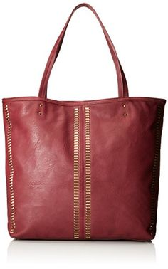 Dolce Girl 1932201 Tote Bag, Wine, One Size ** More info could be found at the image url.
