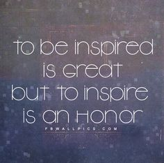 Inspire - the heart of leadership education!