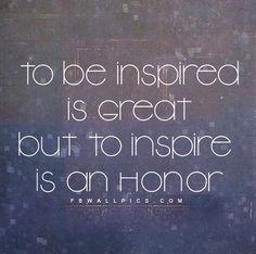 Inspire - the heart of leadership education!