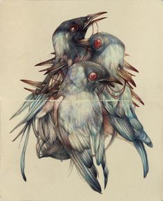 Gallery.ru / Фото #1 - Жутковатыо-притягательные карандашные рисунки Marco Mazzoni - MontanaBY