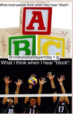 Volleyball quotes. I'm able to block with my elbows above the net. Favorite part of the game, other than being with my team