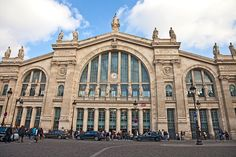 Gare du Nord, Paris Opened in 1864, this majestic Beaux Arts complex in Paris's 10th arrondissement is one of the oldest rail stations in the world, still one of the busiest, and perhaps the most magnificent. Twenty-three female statues adorn its façade, each personifying a destination served by the rail line.