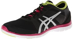 ASICS Women's Gel Fit Nova Cross-Training Shoe,Black/Silver/Hot Pink,10 M US - http://womenfitnesscrosstrainingshoes.shopping-craze.com/index.php/2016/04/08/asics-womens-gel-fit-nova-cross-training-shoeblacksilverhot-pink10-m-us/