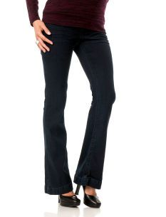Wallflower Secret Fit Belly(r) Embellished Pocket Fit And Flare Maternity Jeans Motherhood Maternity