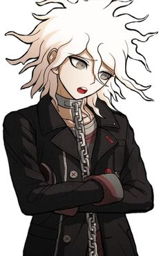 I love Servant in DR:AE. He looks great and Nagito is no different after brainwash XD (It made me secretly happy!)