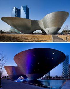 Incheon Tri-bowl, South Korea, iArc Architects