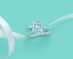 I believe Princess Cut is one of the most beautiful engagement/wedding rings. I am so blessed.