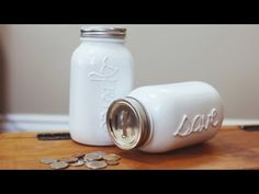 I need to make this piggy bank!!! So pretty and smart! WHERE YOU CAN FIND US: www.thesorrygirls.tumblr.com www.pintrest.com/thesorrygirls www.twitter.com/kelseymarillis www.twittter.com/beckyylynne