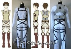 Attack on Titan Shingeki no Kyojin Belts and by RedstarCosplay, $18.00 Oh...Oh my gosh...@Victoria Grace Tucker (Howell) !!!!!