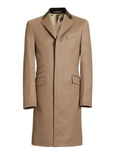 51572a498473 Crombie - Pure Wool Lovat Covert Coat Crombie Coat
