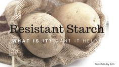 Resistant starch off