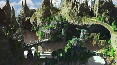 http://www.planetminecraft.com/project/aeron-the-city-of-the-skyknights/