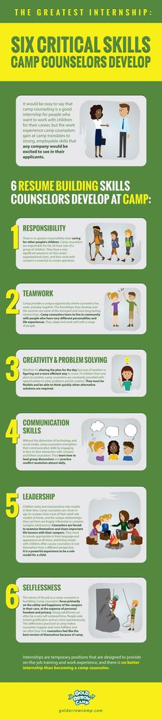 6 Critical Skills infographic