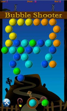 Bubble Shooter is the most addicting puzzle shooter game online. It's entertaining, fun, unpredictable and will quench your bubble bubble addiction.